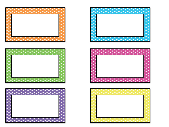 Printable Name Tag Template Name Tag Templates On Pinterest