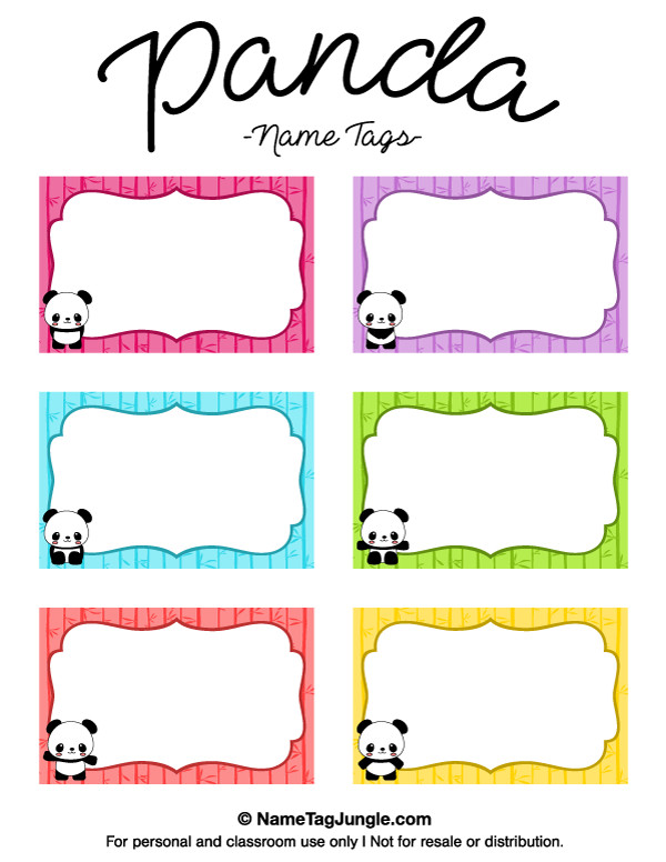Printable Name Tag Template Pin by Muse Printables On Name Tags at Nametagjungle