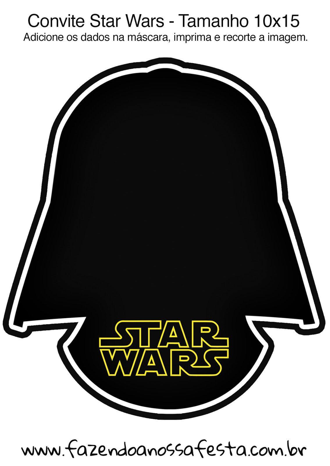 Printable Star Wars Invitation Star Wars Free Printable Invitations Oh My Fiesta for