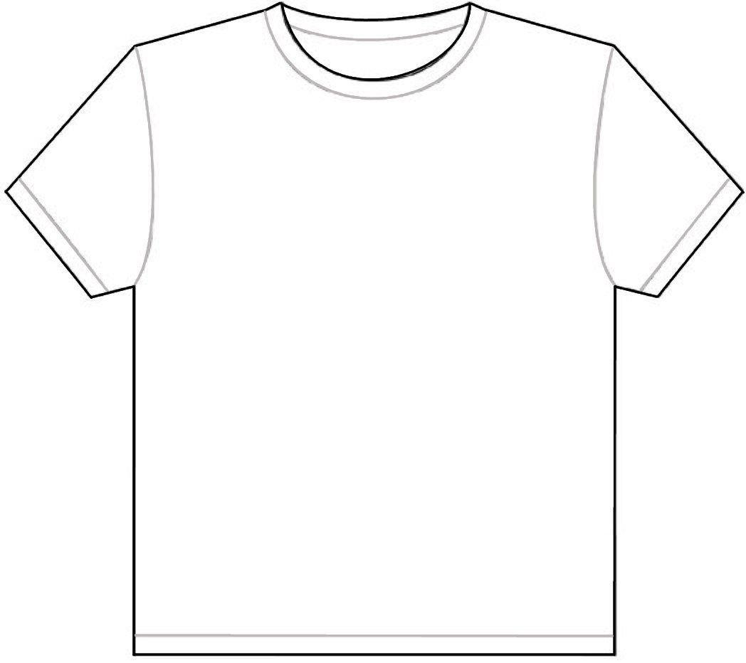Printable T Shirt Template tee shirt Pinterest