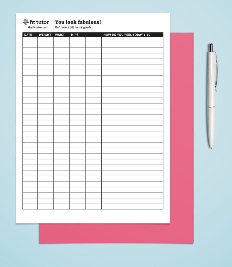 Printable Weight Loss Chart Weight Loss Chart Free Printable Reach Your Weight