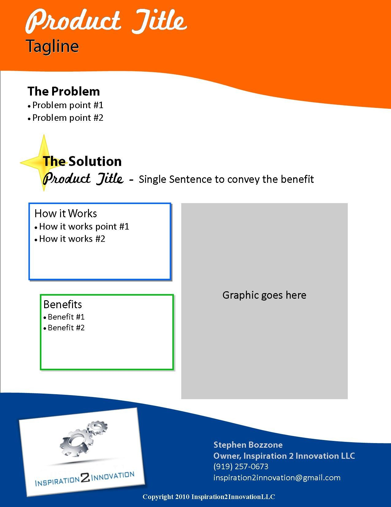Product Sell Sheet Template 5 Best Of Cool Invention Ideas Really Cool