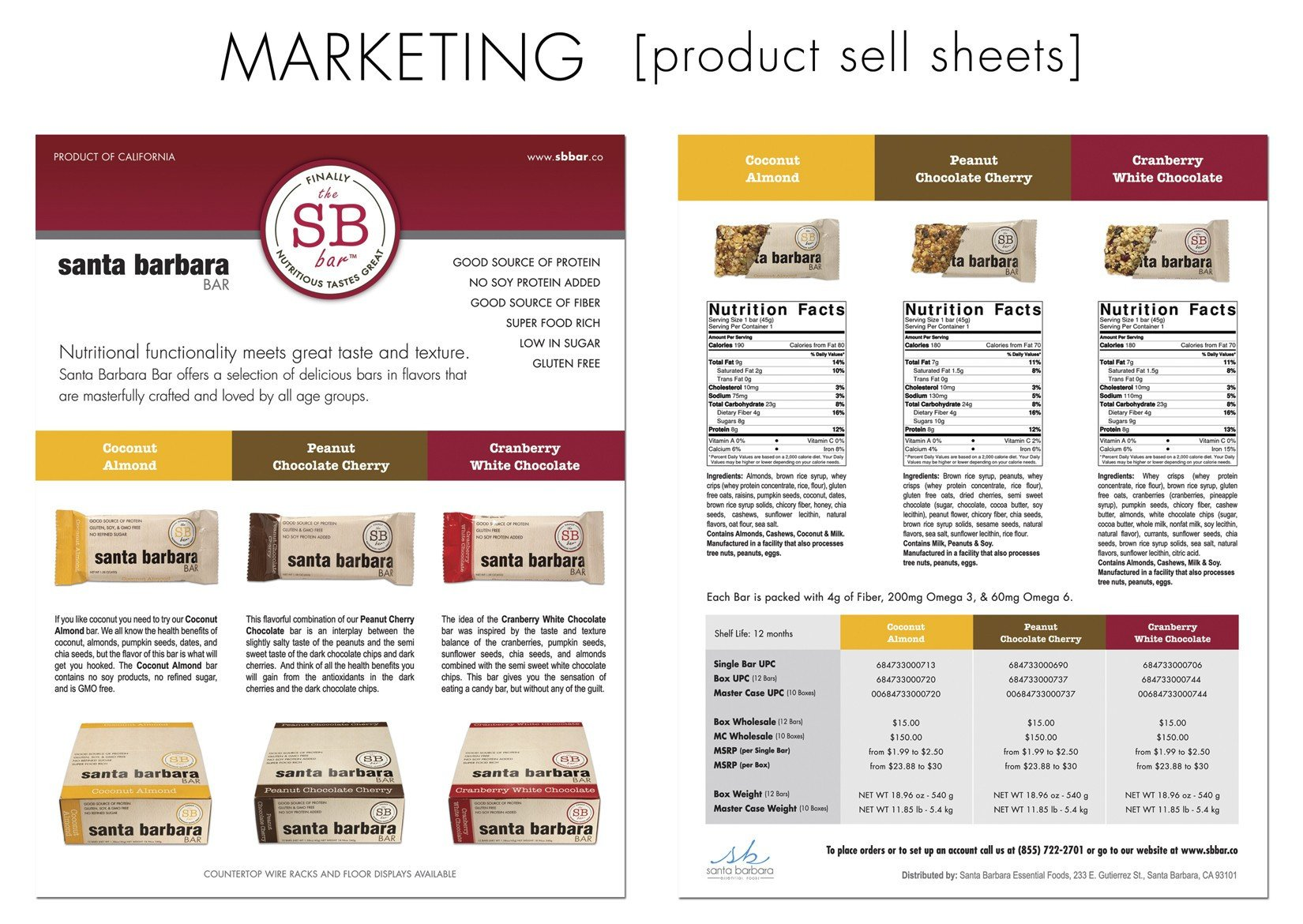 Product Sell Sheet Template Graphic Design In Los Angeles – Marketing and Advertising