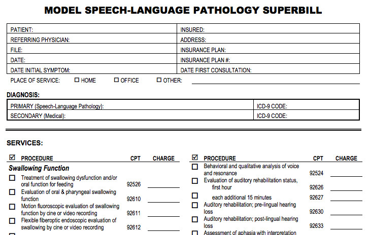 Psychotherapy Superbill Template Superbill Template Psychotherapy Sp Helpcenter Screenshots
