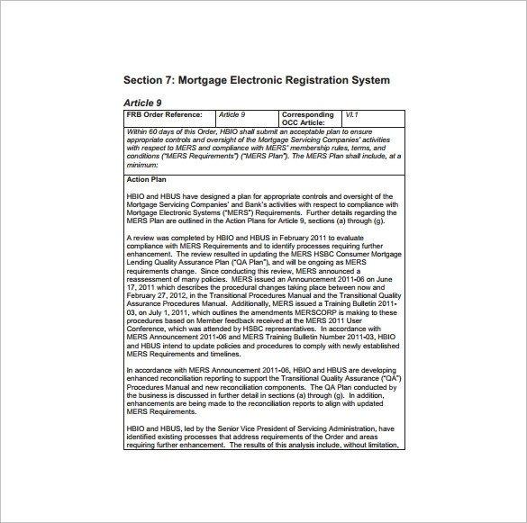 Quality assurance Plan Templates 10 Quality assurance Plan Template Word Pdf Ppt