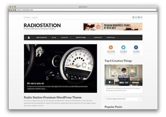 34 Best Responsive Three Column Magazine WordPress Themes
