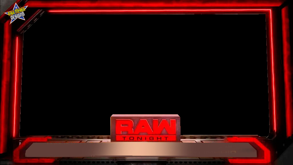Raw Match Card Template Renders Backgrounds Logos Raw 2016 Match Card New Era