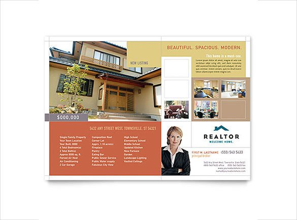 Real Estate Flyer Template Word 36 Real Estate Flyer Templates Psd Ai Word Indesign