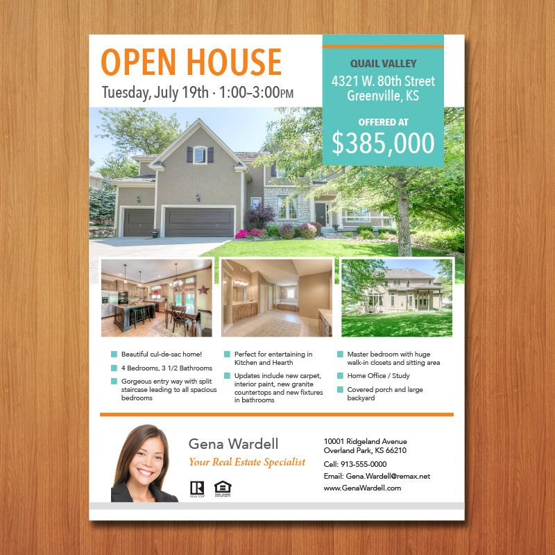 Real Estate Flyer Template Word Real Estate Flyer Template Microsoft Publisher Word Apple