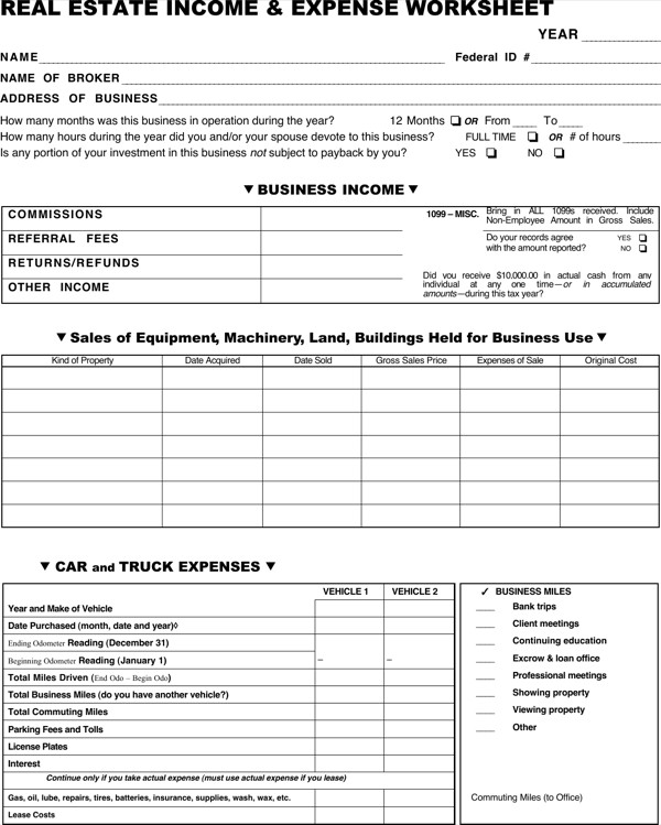 Real Estate Spreadsheet Templates Download Real Estate Spreadsheet Template for Free