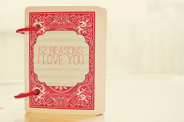 Reasons I Love You Template 30 Last Minute Diy Gifts for Your Valentine the Thinking