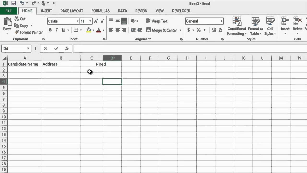 Recruiting Metrics Excel Template How to Track the Recruiting Process In Microsoft Excel