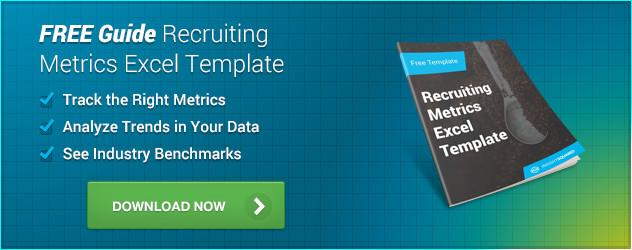 Recruiting Metrics Excel Template Recruiting Metrics Template