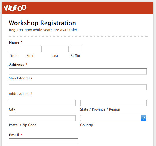 Registration forms Template Free Printable Registration form Templates Word Excel Samples