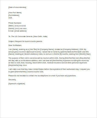 Relationship Support Letters Immigration 12 Sample Affidavit Of Support Letters Pdf