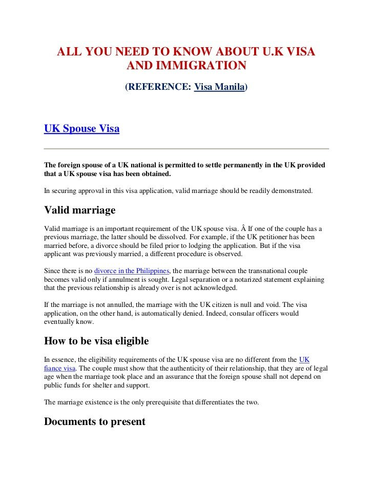 Relationship Support Letters Immigration All You Need to Know About Uk Visa and Immigration
