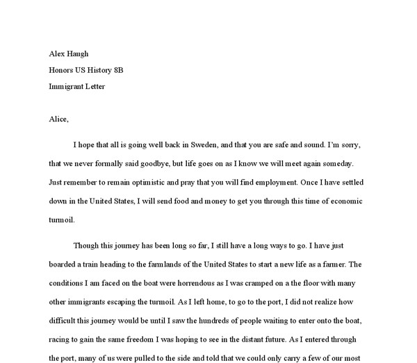 Relationship Support Letters Immigration Immigration Letter Support for A Friend