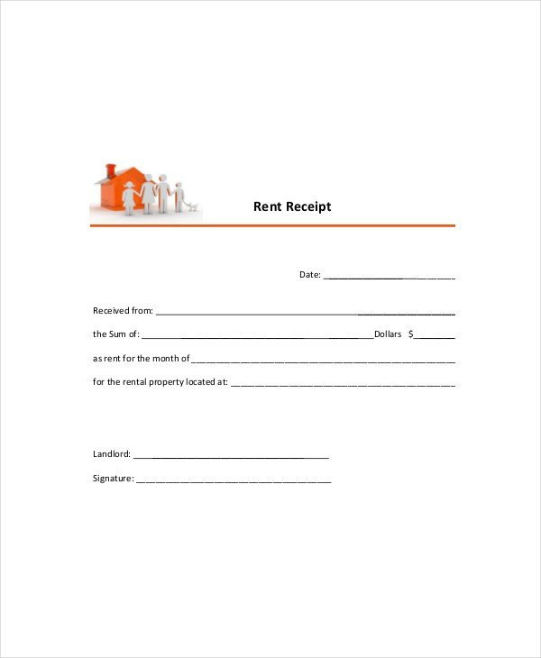 Rent Receipt Template Word Document Free Rental Receipt Template Word – Rent Receipt