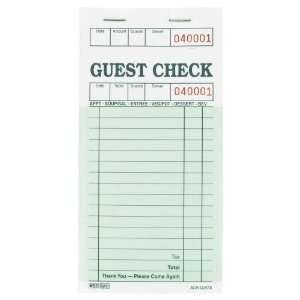 Restaurant Guest Check Template Printable Restaurant Guest Check On Popscreen