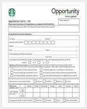 Restaurant Job Application Template 175 Application Template