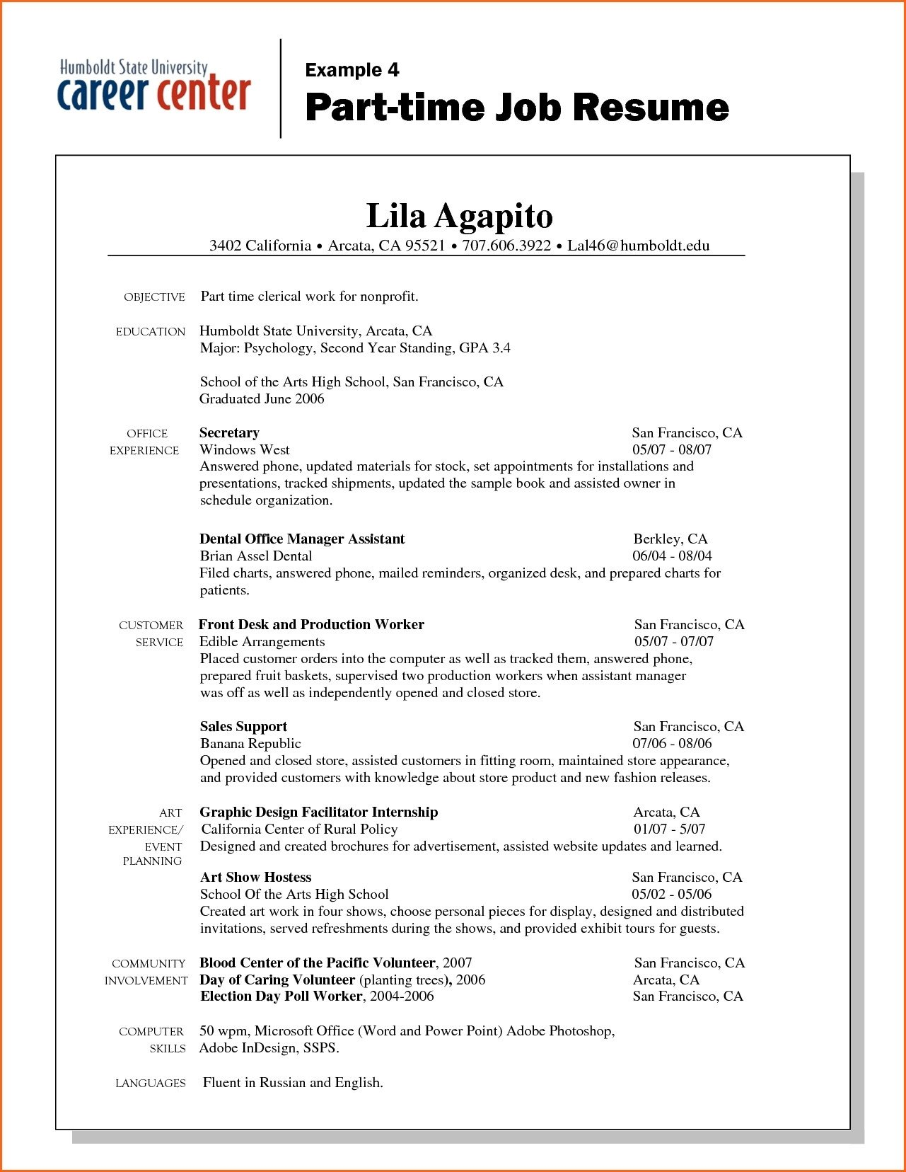 First Job Resume Template Microsoft Word flowersheet