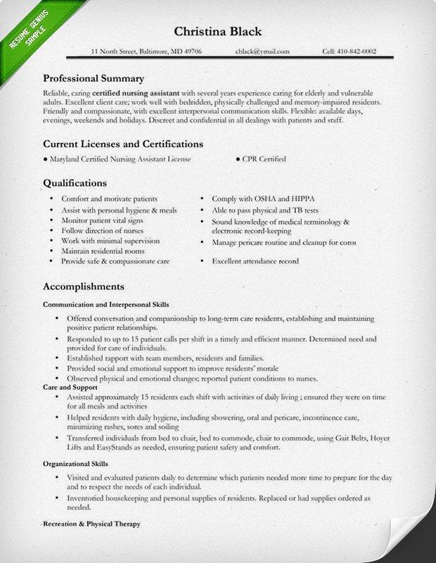 Resume Template for Nursing Nursing Resume Sample & Writing Guide