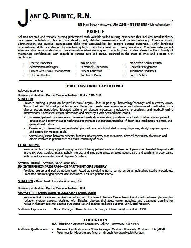 Resume Template for Nursing Nursing Resumes Skill Sample