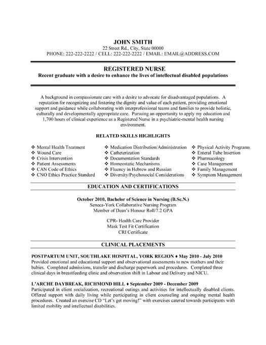 Resume Template for Nursing top Nurse Resume Templates & Samples