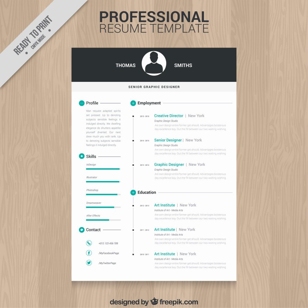 Resume Template Free Download 10 top Free Resume Templates Freepik Blog Freepik Blog