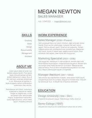 Resume Template Word Download 125 Free Resume Templates for Word [downloadable] Freesumes