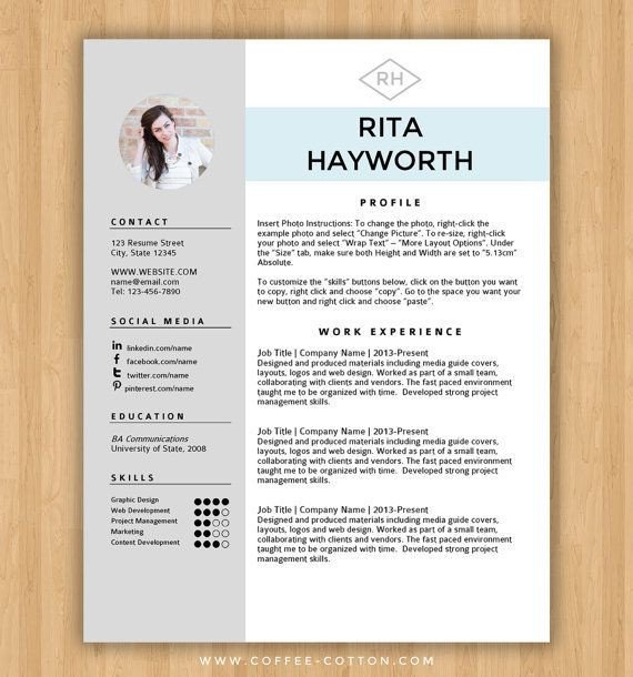 Resume Template Word Download Best 25 Free Cv Template Ideas On Pinterest