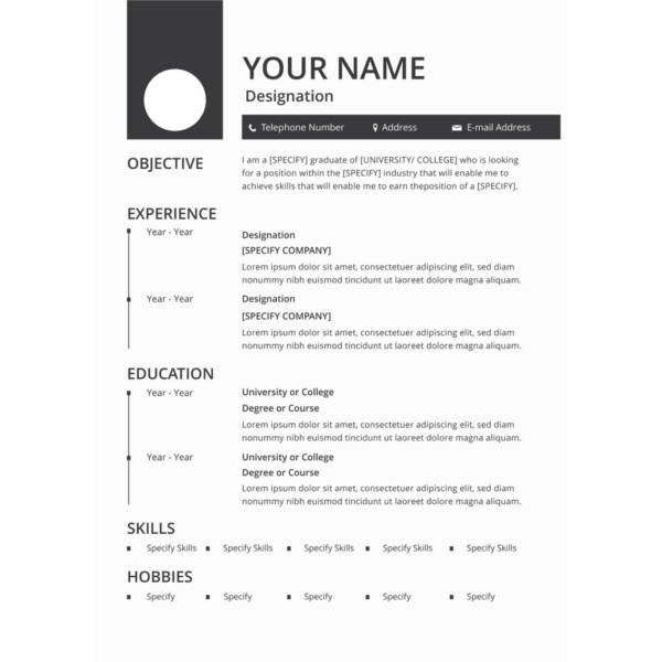 Resume Template Word Free Download 45 Download Resume Templates Pdf Doc