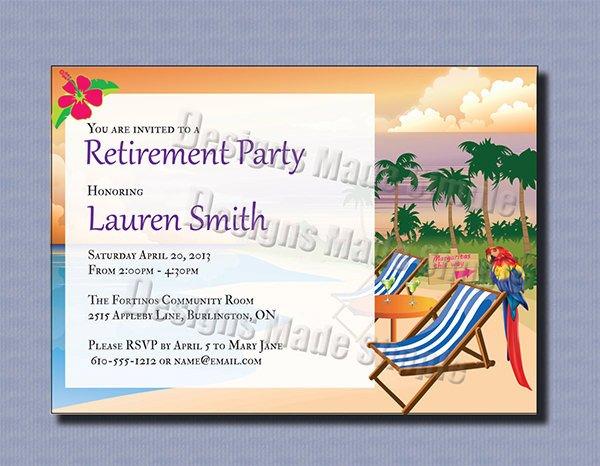 36 Retirement Party Invitation Templates PSD AI Word