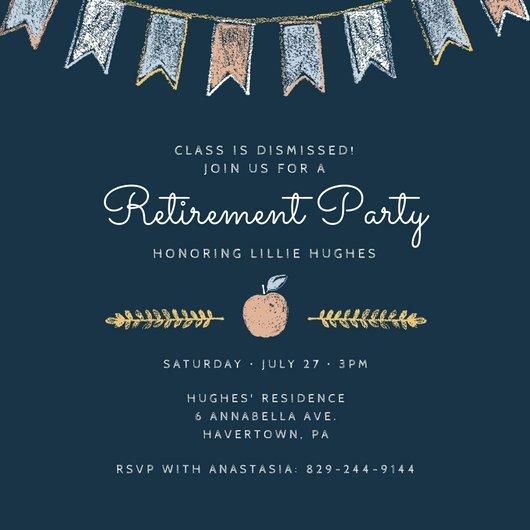 Retirement Party Invitations Templates Customize 2 876 Retirement Party Invitation Templates