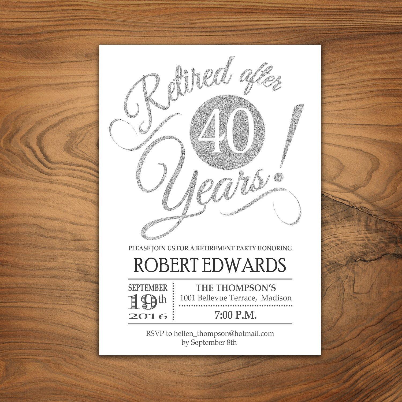 Retirement Party Invitations Templates Retirement Party Invitation Retirement Invite Printable