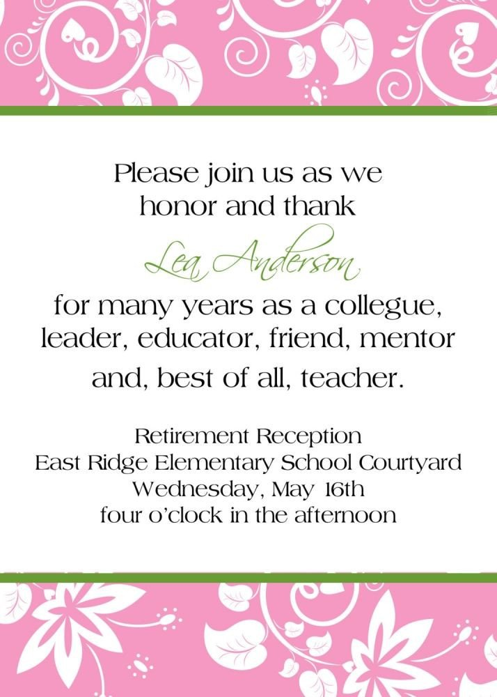 Retirement Party Invite Template 25 Best Ideas About Retirement Party Invitations On