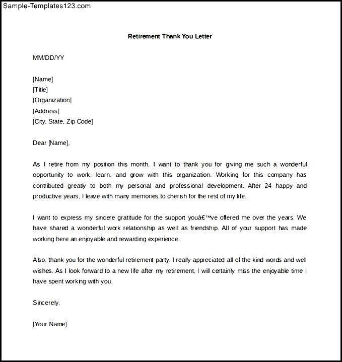 Retiring Letter Of Resignation Retirement Letter Retirement Letters Livecareer 65 Sle