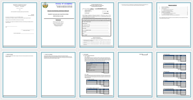 Rfp Response Template Information Technology Best Rfp Response Templates You Need when Responding to Rfps