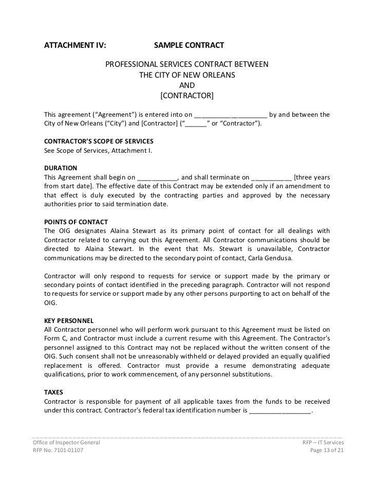 Rfp Response Template Information Technology Information Technology Request for Proposal Template