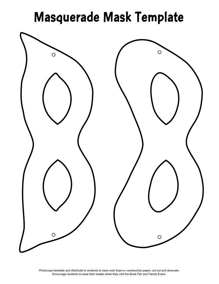 Riddler Mask Template Mask Template Masquerade Masks and Masquerades On