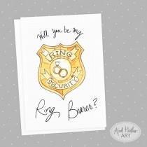 Ring Security Badge Template Invitations & Stationery 19 Weddbook