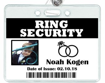 Ring Security Badge Template Ring Security Badge