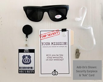 Ring Security Badge Template Ring Security Id Badge Set with Sunglasses and Add On