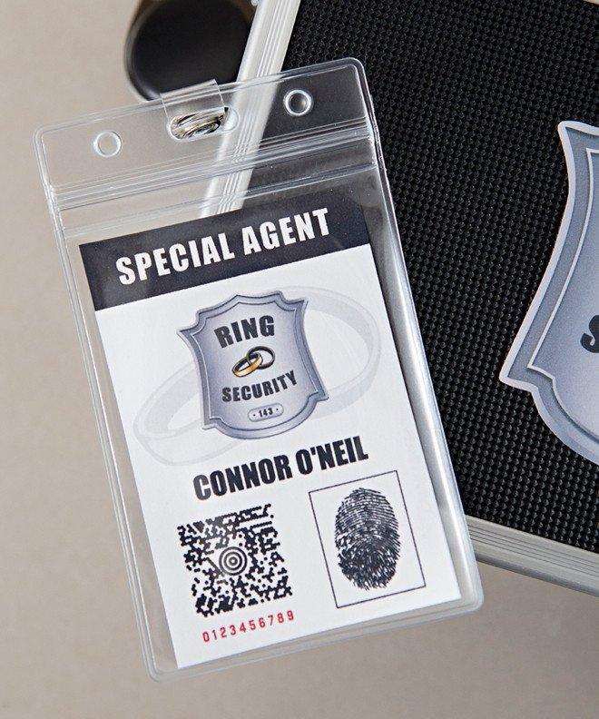 Ring Security Badge Template Ring Security Kit Editable Badge Logo – something