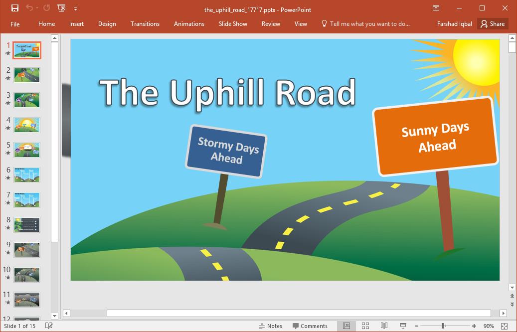 Roadmap Powerpoint Template Free Best Roadmap Templates for Powerpoint