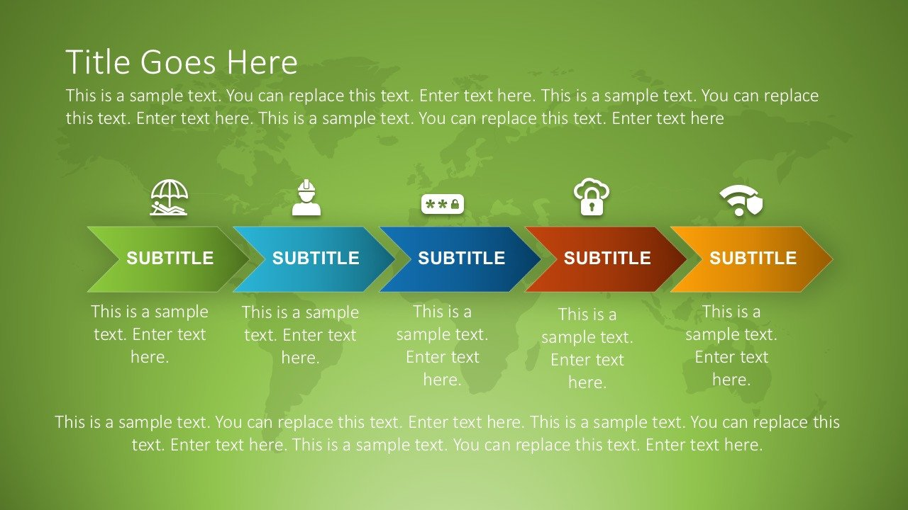 Roadmap Powerpoint Template Free Free Product Roadmap Slides for Powerpoint