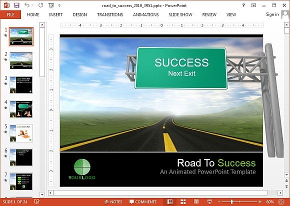 Roadmap Powerpoint Template Free Interactive Roadmap Powerpoint Templates