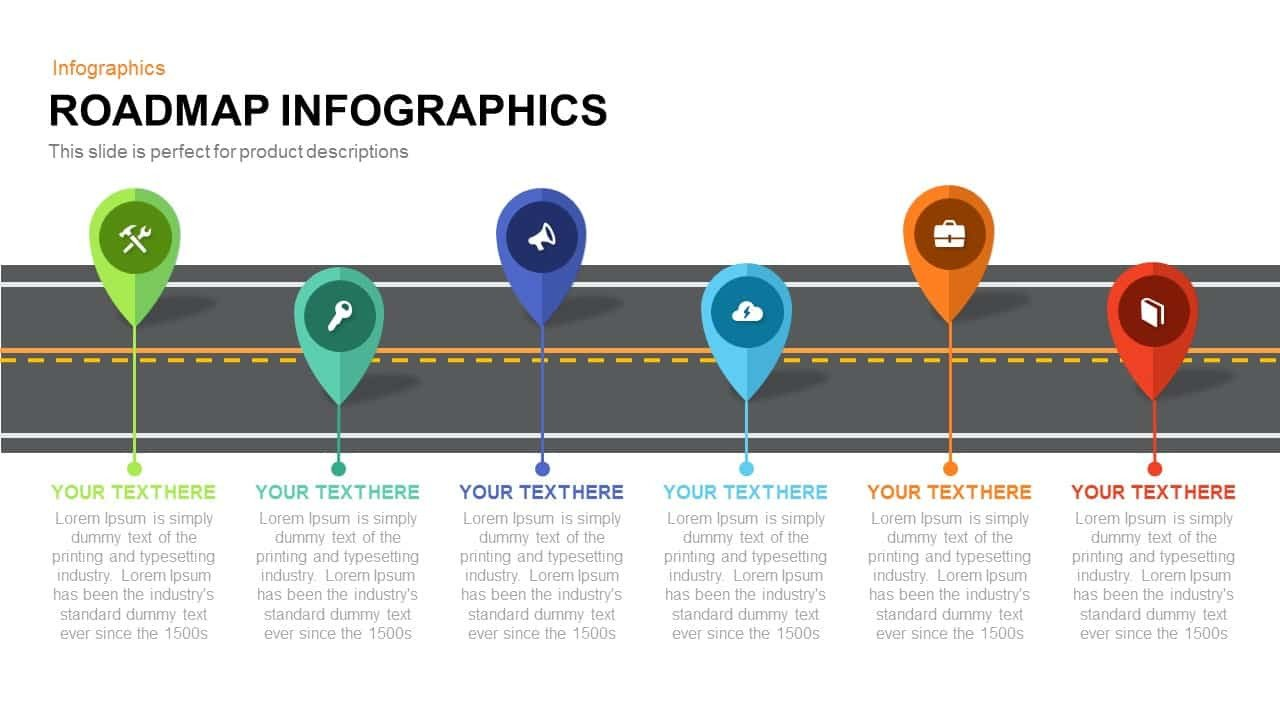 Roadmap Powerpoint Template Free Roadmap Infographics Powerpoint Template and Keynote Slide