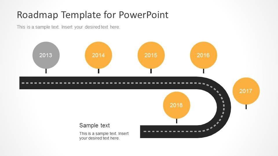Roadmap Powerpoint Template Free Timeline Roadmap Powerpoint Template Slidemodel