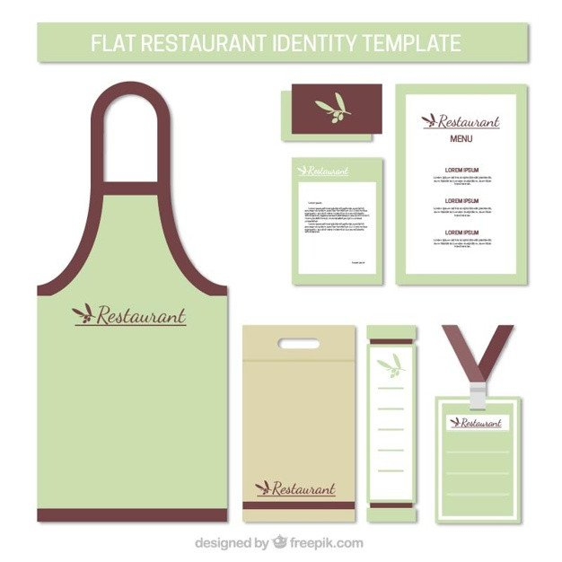 Roblox Apron Template Apron and Stationery Restaurant Vector